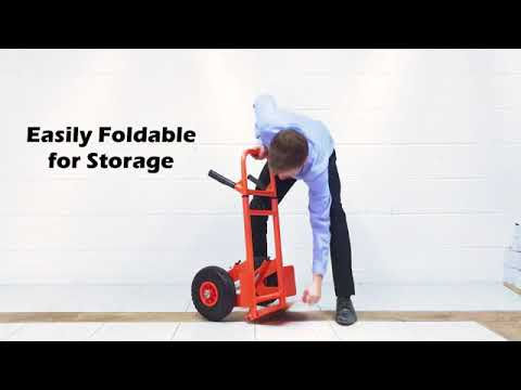 New Generation Zero Compact Hand Truck: with No Lift Sack Truck Technology