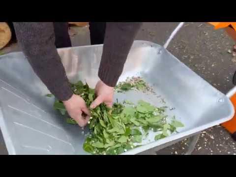 Electric 4HP Compact Garden Wood Chipper & Shredder (FM4DDE)