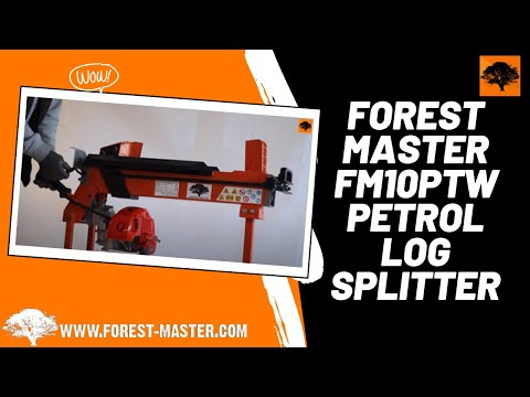 Forest Master FM10PTW Petrol Log Splitter