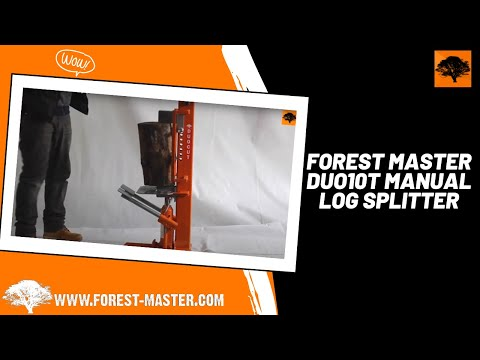 Forest Master DUO10T Manual Log Splitter