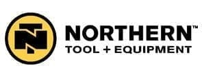 Northern Tool and Equipment Logo, Black Bold Text and Yellow Circle Logo