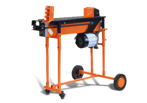 8-Ton Electric Log Splitter with Workbench Guard and Trolley, FM16TW-TC , Duocut Blade