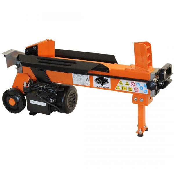 5 Ton Duocut Electric Log Splitter Domestic Use with Work Bench & Guard FM10D-TC