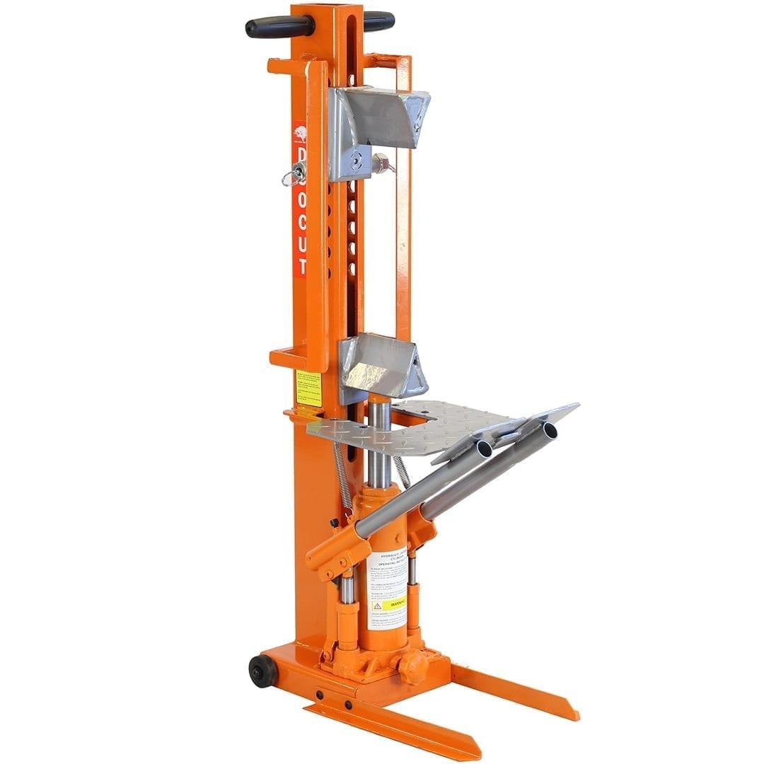 Forest Master Heavy Duty Manual Hydraulic Duocut Log Splitter, DUO10T