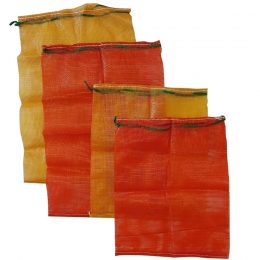Forest Master Mesh Log Bag, 50cmx60cm, 55cmx80cm, Orange Bag and Red Bag