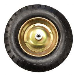 Wheelbarrow Replacement Wheel, Zero Barrow Wheel, 12mm Axle, 4.8 / 4.00