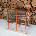 BLS-3H, sawhorse, bulk log sawhorse, woodd sawhorse