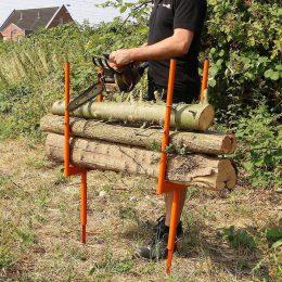 Forest Master Logging Spikes, Bulk Log Stand, BLSS