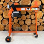 electric wood splitter, 7 ton forest master