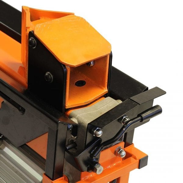 8 Ton 2-Speed Electric Log Splitter with Work Bench & Guard FM16D-TC