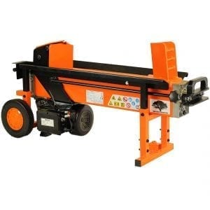 8 Ton 2 Speed Electric Log Splitter with Work Bench and Guard, FM16D