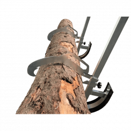 Forest Master Heavy Duty Log Lifter Saw Horse Log Jack, FMLL