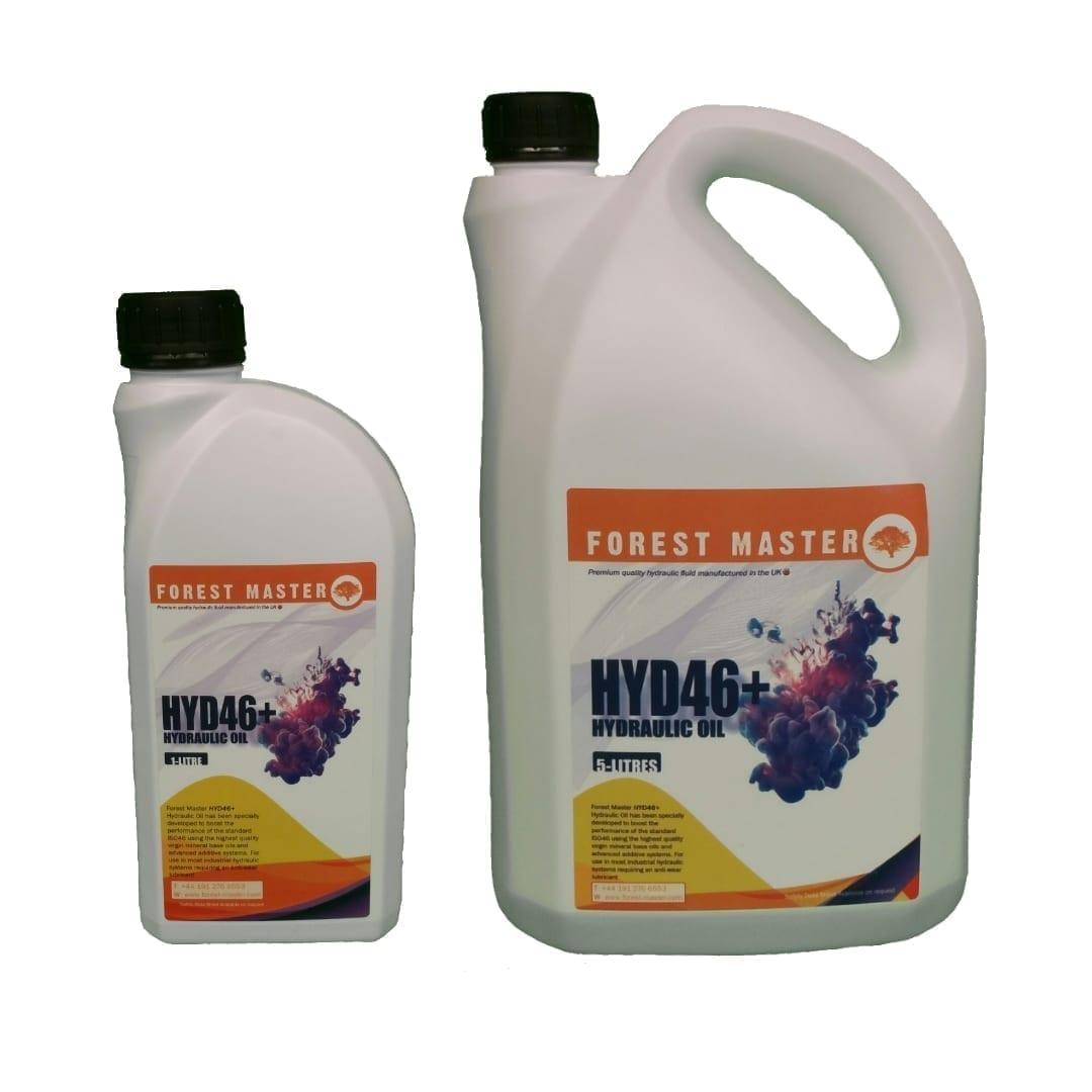 Electric Log splitter Hydraulic Fluid, 1 Litre and 5 Litre bottle, HYD46