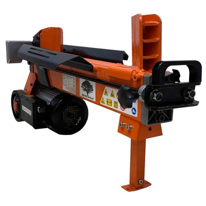 7 Ton Electric Log Splitter Duocut Blade Work Bench and Guard, FM10D-7-TC