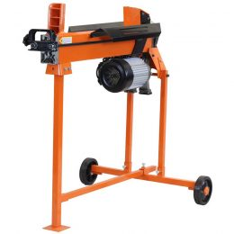 5 Ton Electric Duocut Log Splitter Work Bench Guard Stand, FM10T-TC