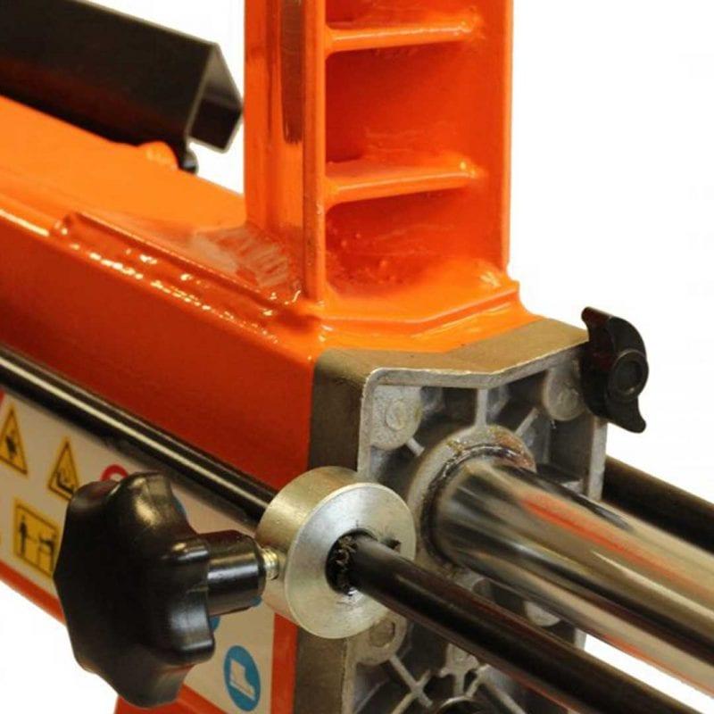 5 Ton Electric Duocut Log Splitter Work Bench Guard Stand, FM10T-TC