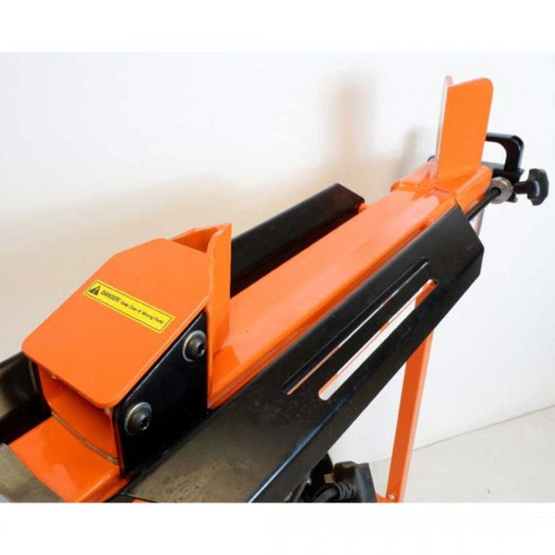 7 Ton Duocut Electric Log Splitter with Trolley work bench and guard, Heavy Duty, FM10TW-7-TC