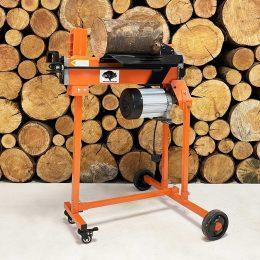 electric log splitter, 5 ton, wood splitter, fm8tw, wood log