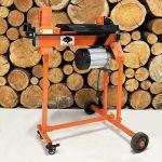 electric log splitter, 5 ton, wood splitter, fm8tw
