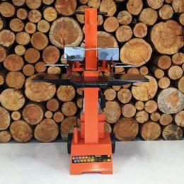 heavy duty electric log splitter, 8 ton vertical