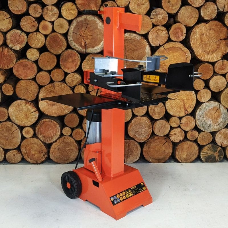 Vertical electric log splitter, FM8VE, wood splitter