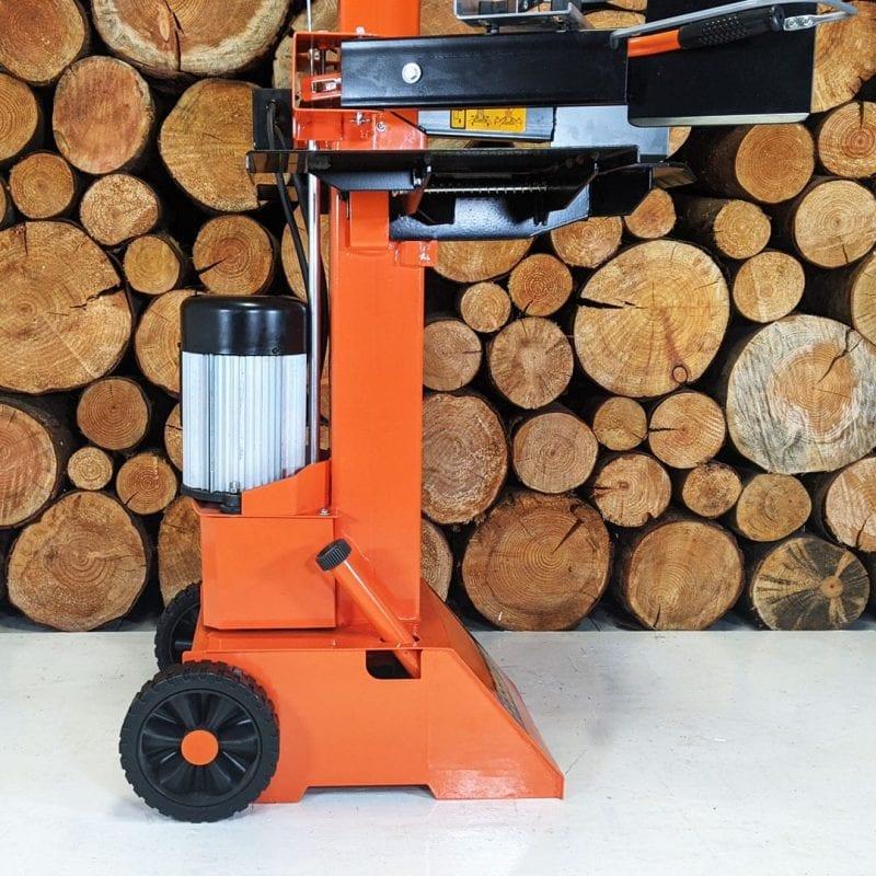 heavy duty log splitter, 8 ton
