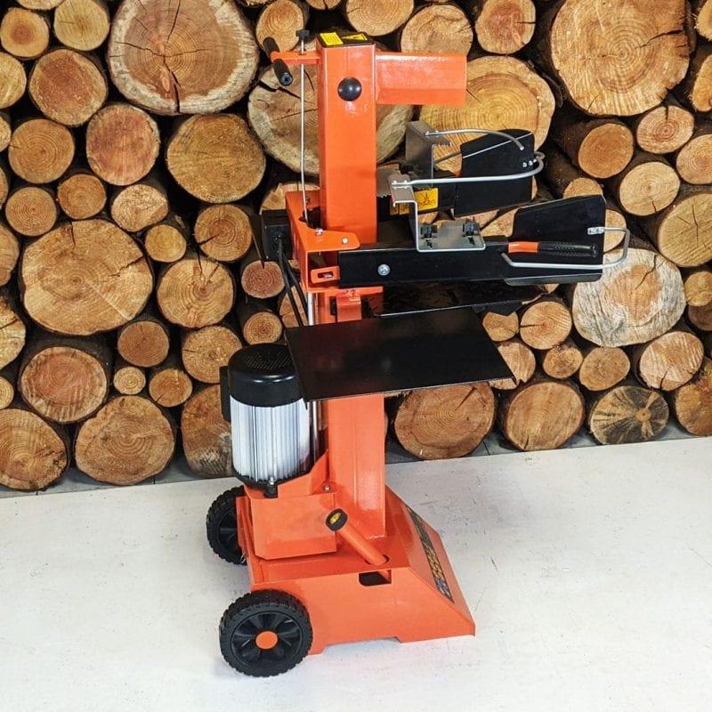 FM8VE, forest master log splitter vertical