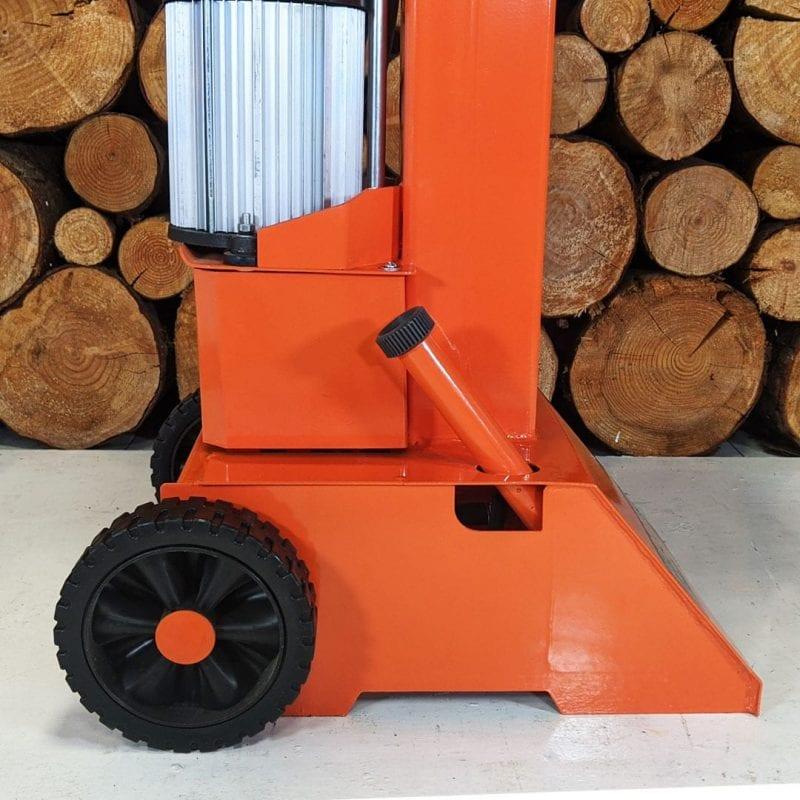 heavy duty log splitter ,wheels, motor