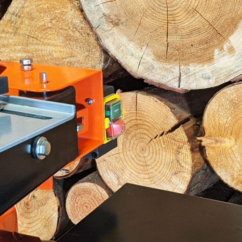 electric log splitter switch, heavy duty operation, log splitter
