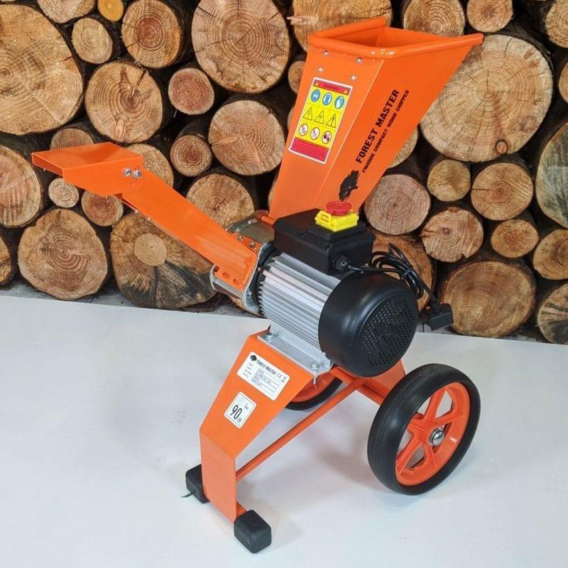 Electric Wood Chipper, 4HP Wood Chipper and Garden Shredder, FM4DDE