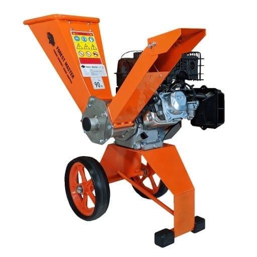 Compact Petrol 6HP Wood Chipper Garden Shredder