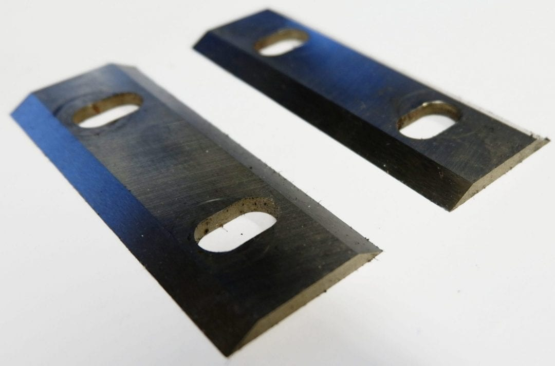 replacement chipper blades, uses of an angle grinder, resharpening