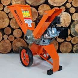 petrol wood chipper, 6hp wood chipper, forest master, direct drive, garden shredder, forest master