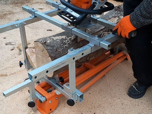 The Ultimate Chainsaw Sawmill?