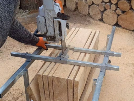 Chainsaw Sawmill, Chainsaw Attachment, Vertical Chainsaw, Milling Planks