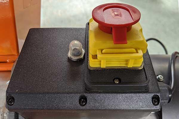 FM4DDE, Trip Switch, Compact Electric Chipper