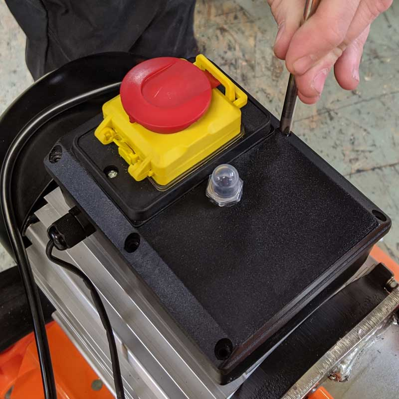 How to replace the Circuit Trip on your Electric Chipper