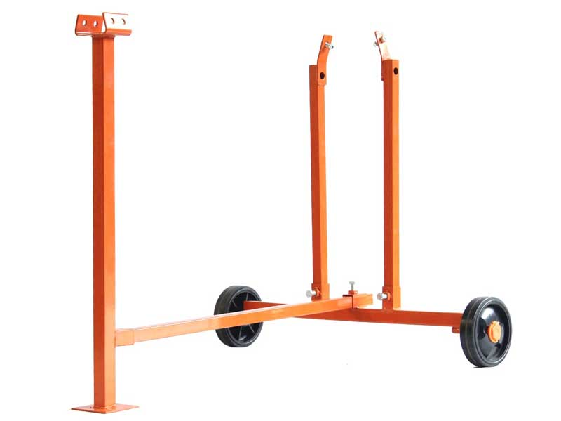 Stand, Rear Wheels, Front Plate Foot, Forest Master