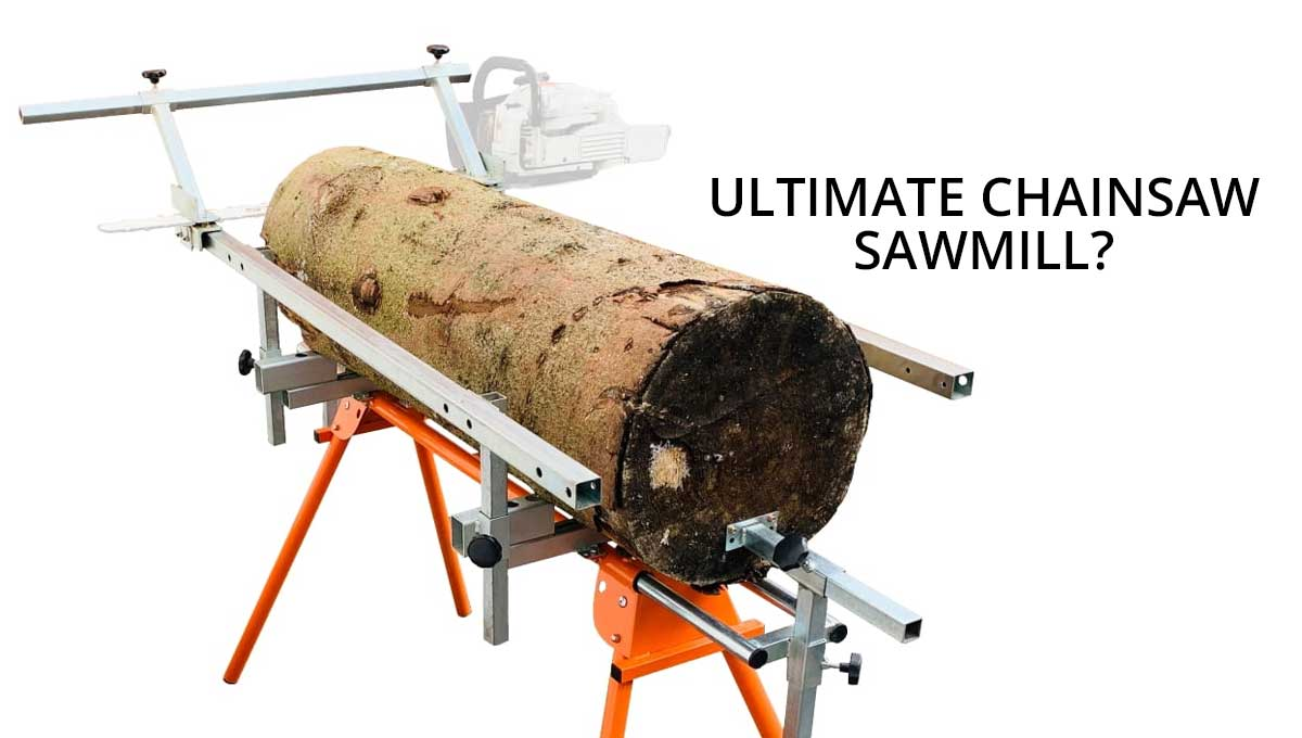 chainsaw mill, uwws, budget chainsaw mill, sawhorse