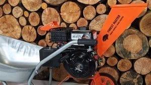 petrol chipper, fm6dd, compact wood chipper, garden shredder