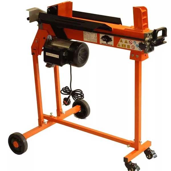 electric log splitter, forest master, fm16
