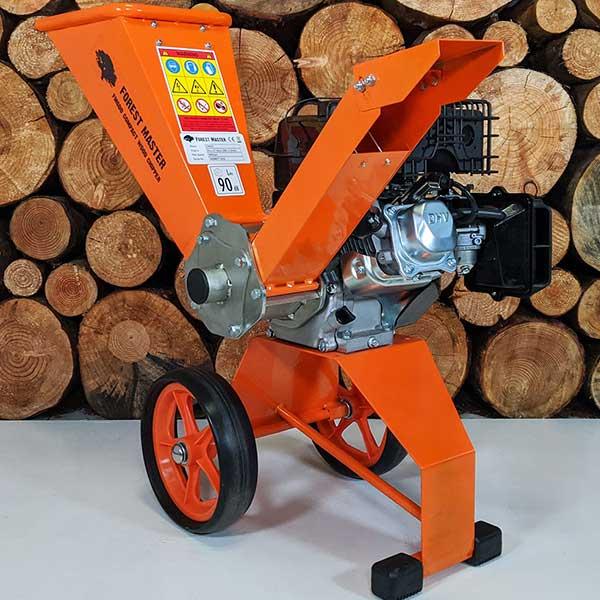 wood chipper, petrol, compact