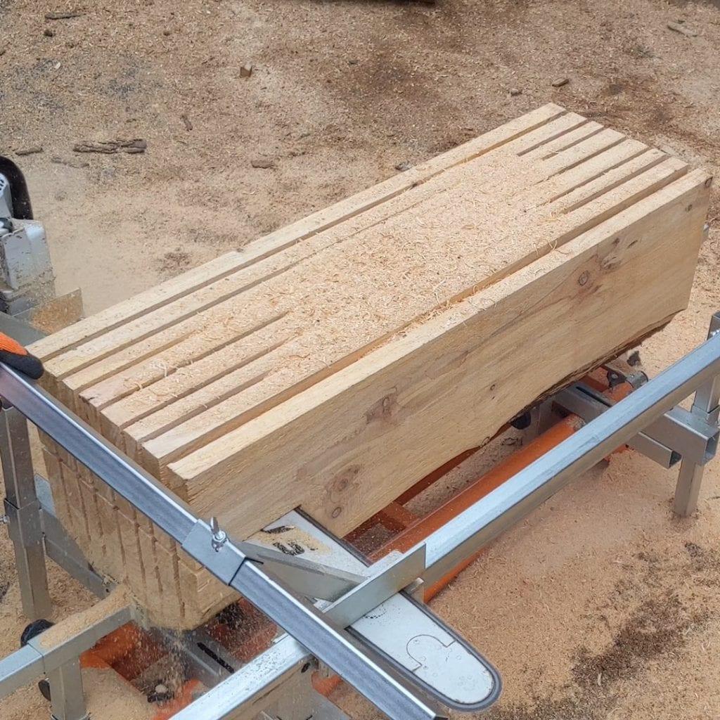 sawmill, chainsaw mill, woodcutting