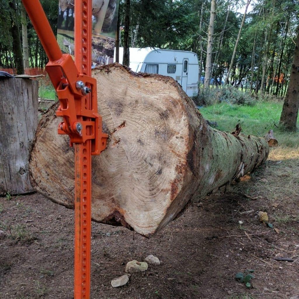 tree pusher, log lifter, stump remover, fm3-lp