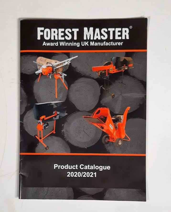 Forest Master Catalogue, Product Catalogue, Forestry Equipment
