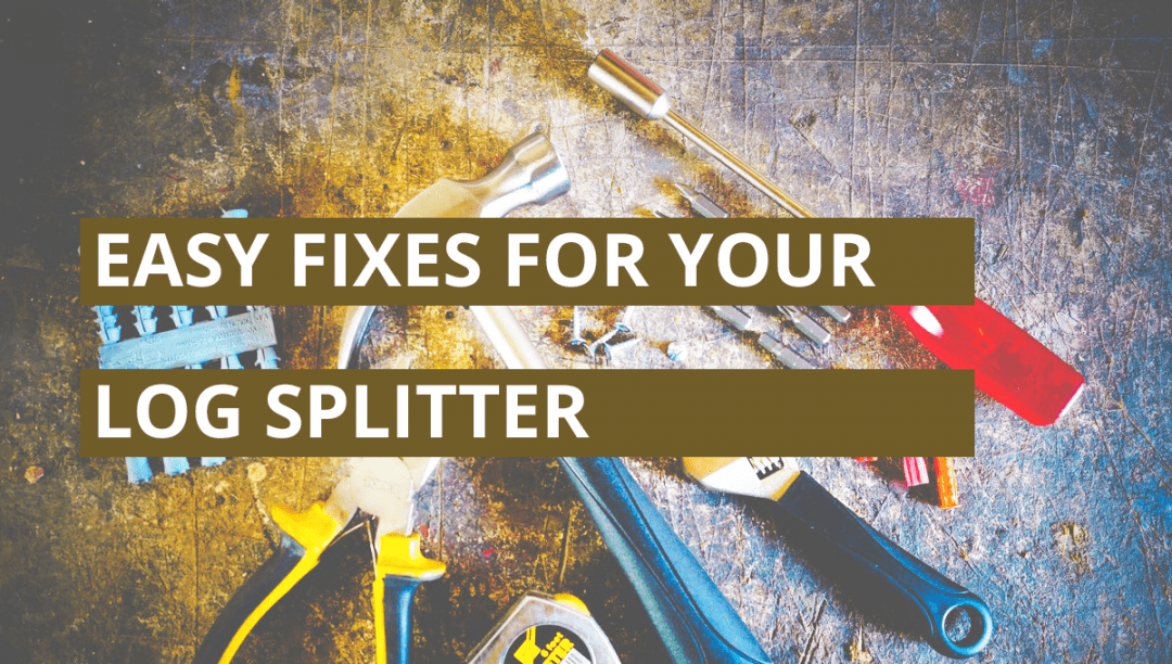 Quick Fixes For Your Log Splitter