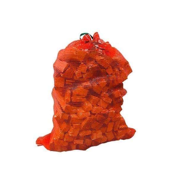 Mesh Log Bag, Kindling Sack, Wood Kindling
