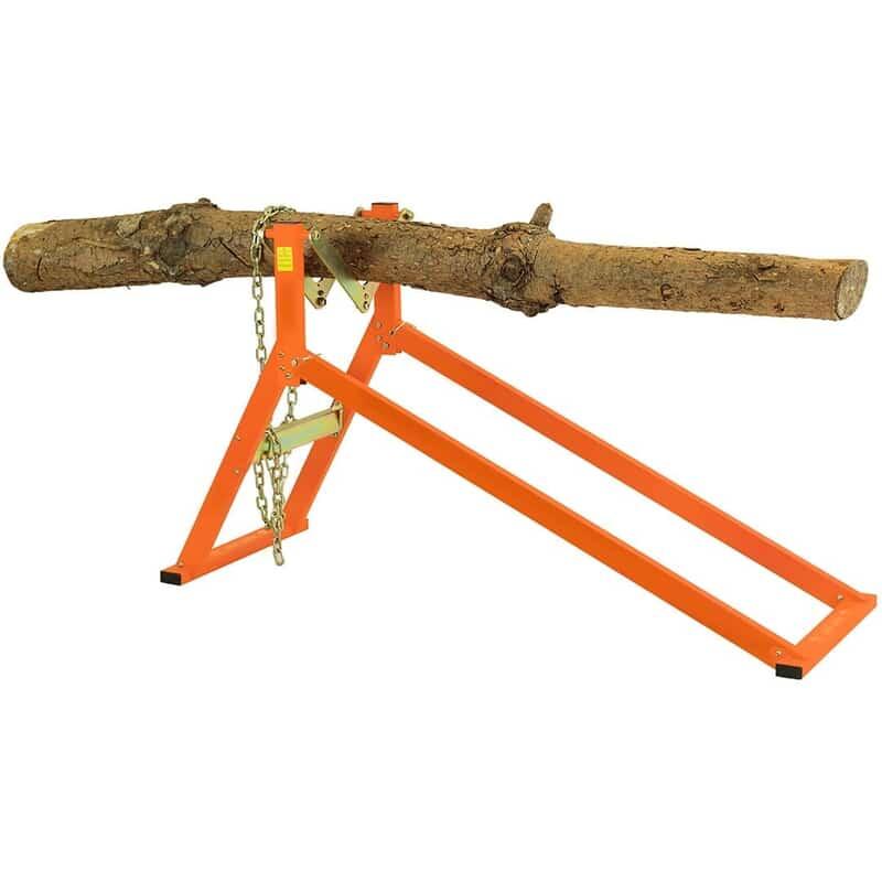 ultimate sawhorse, log saw horse.