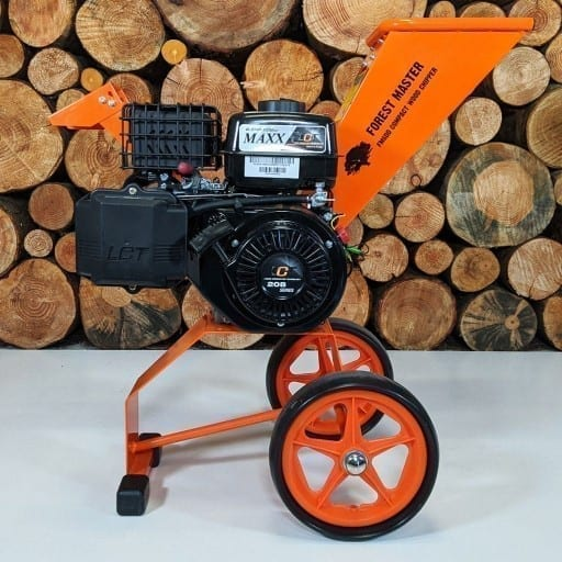 Electric Start Wood Chipper, 6HP Petrol Chipper, Garden Shredder, wood chipper shredder