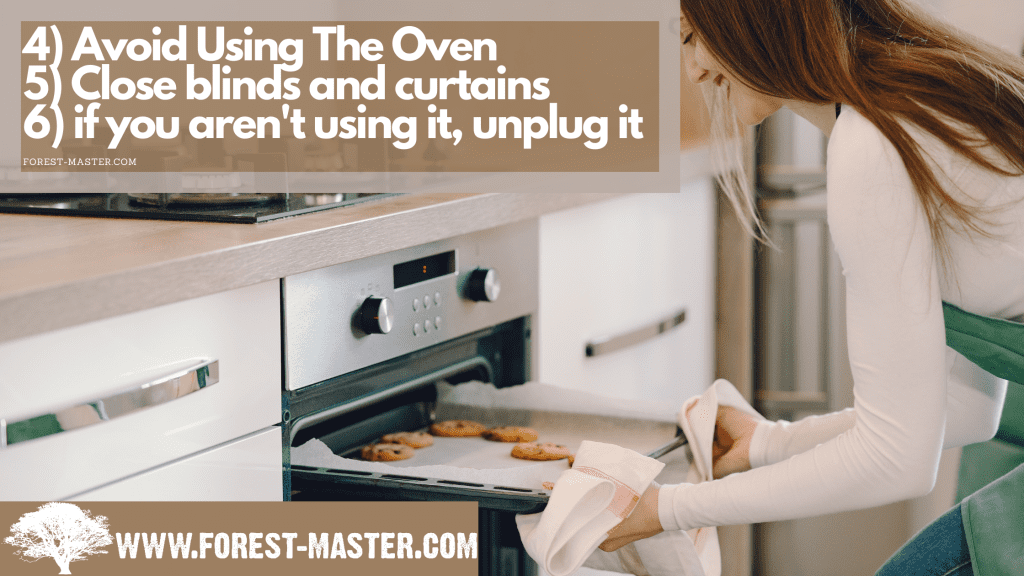 Oven, forest master, energy saving tips for the summer, energy saving, energy efficiency